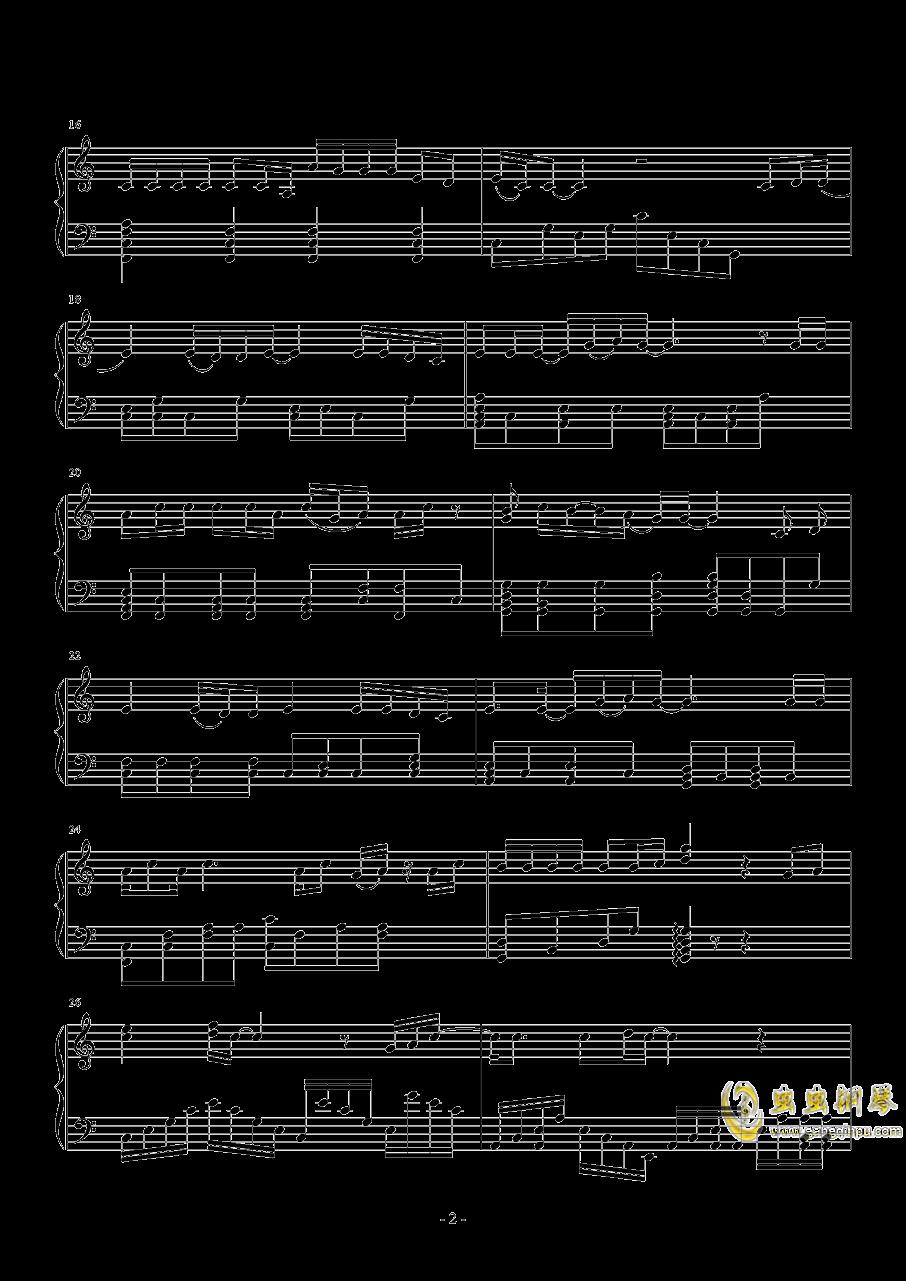 当爱已成往事钢琴谱 第2页