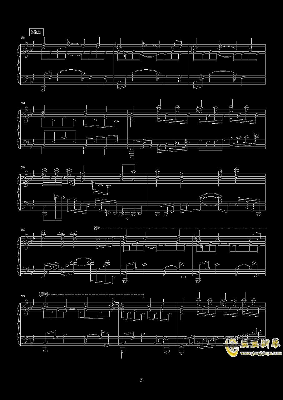 开始!开始!钢琴谱 第3页
