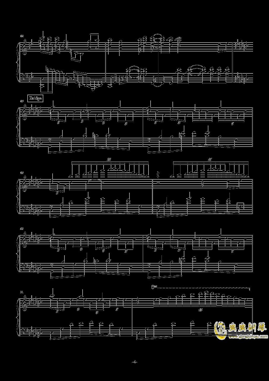 开始!开始!钢琴谱 第4页