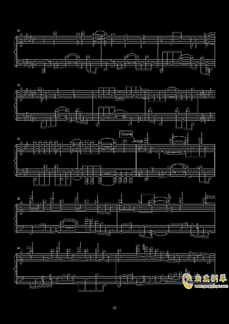 开始!开始!钢琴谱 第5页