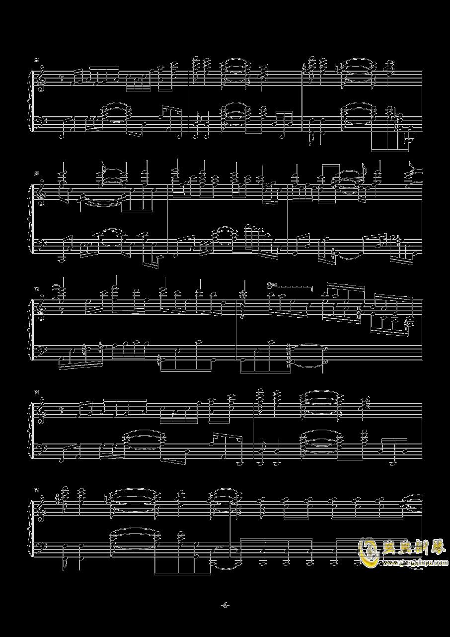 开始!开始!钢琴谱 第6页