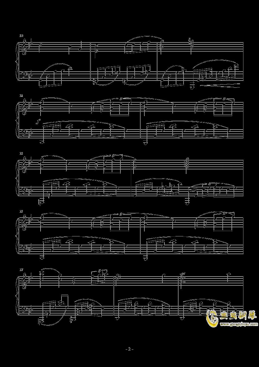 游園施設钢琴谱 第2页