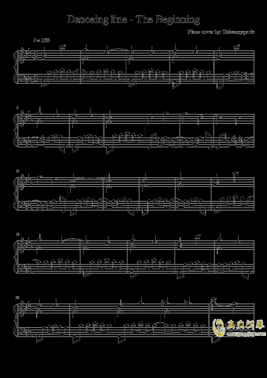 【跳舞的线】序幕,【跳舞的线】序幕钢琴谱,【跳舞的