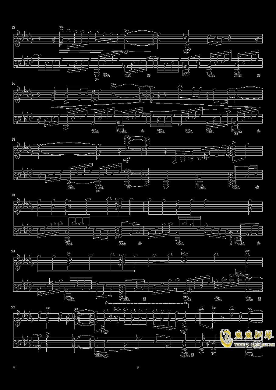 魔法使的新娘钢琴谱 第2页