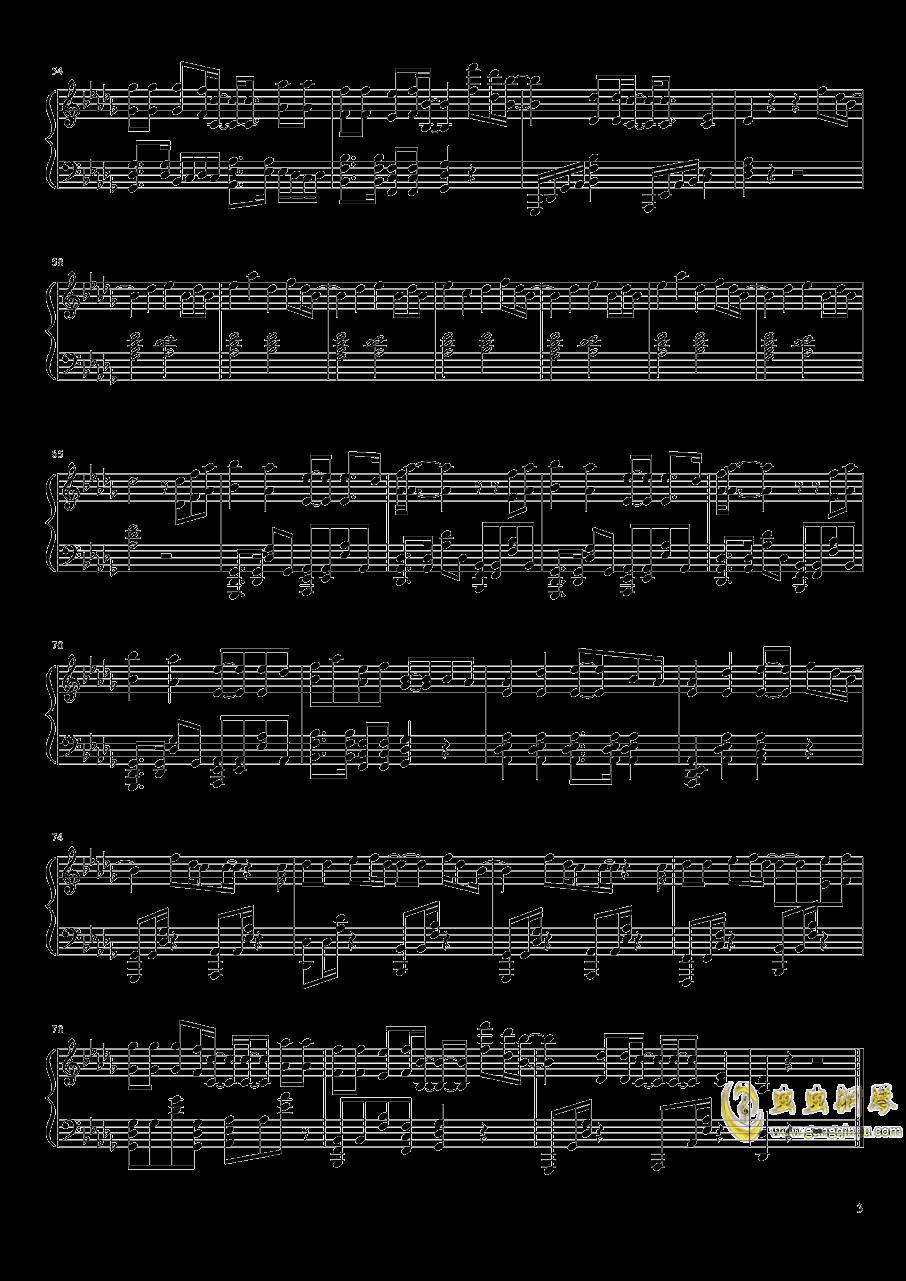 all falls down 钢琴谱 第3页