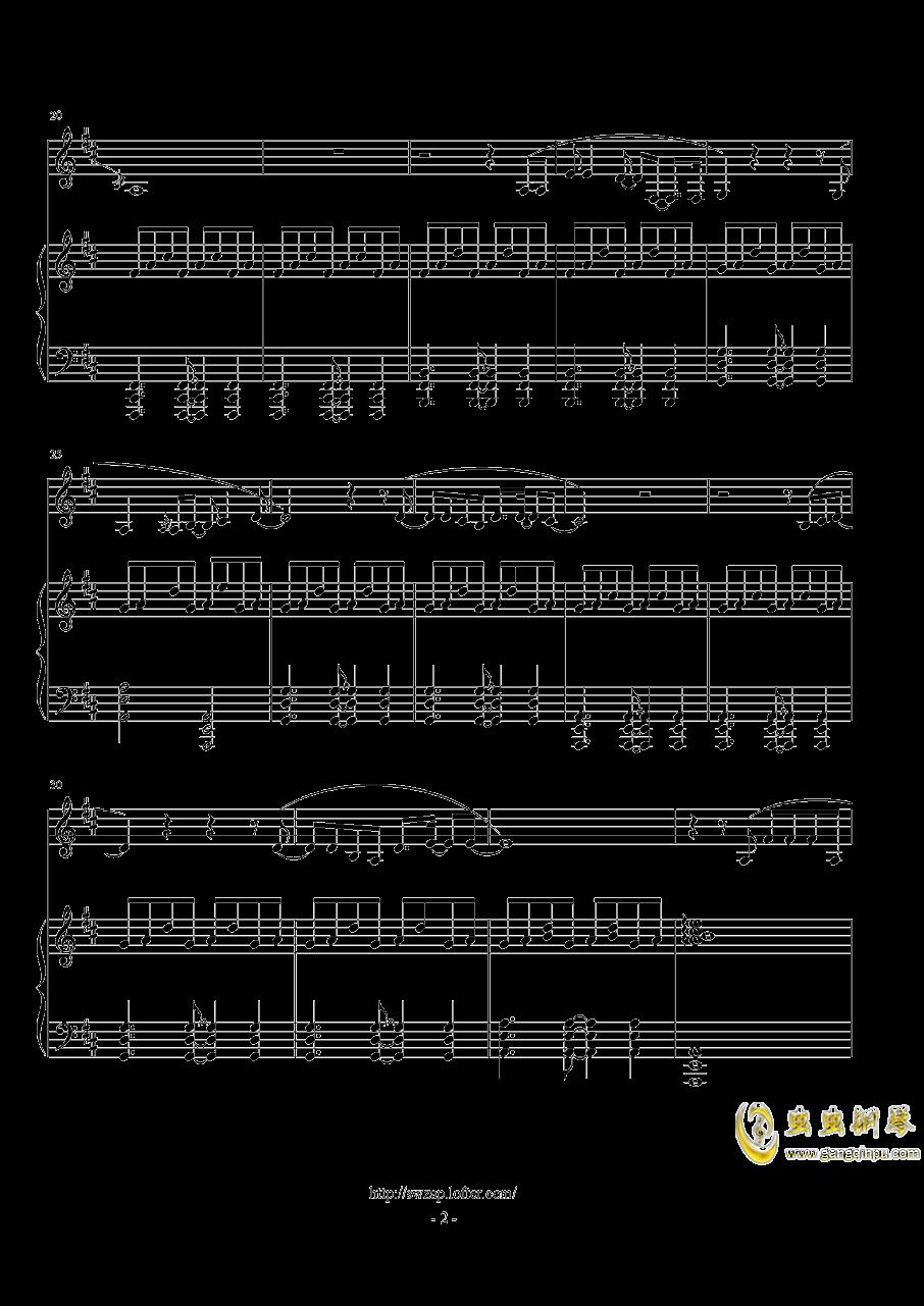 伟大的渺小钢琴谱 第2页