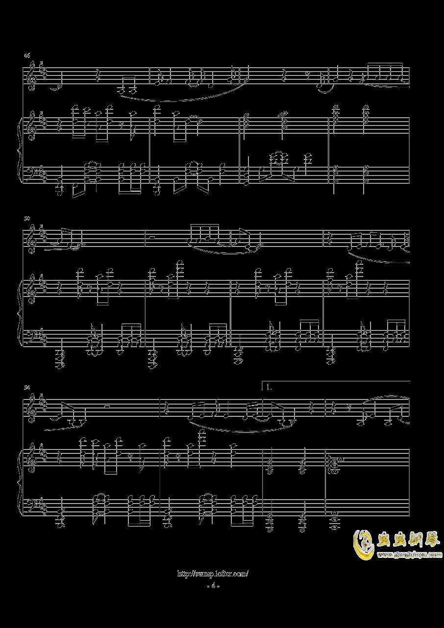 伟大的渺小钢琴谱 第4页