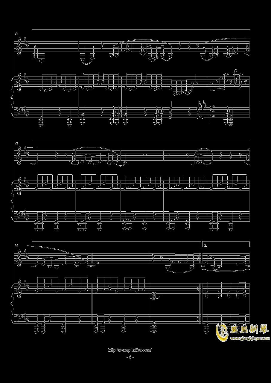 伟大的渺小钢琴谱 第6页