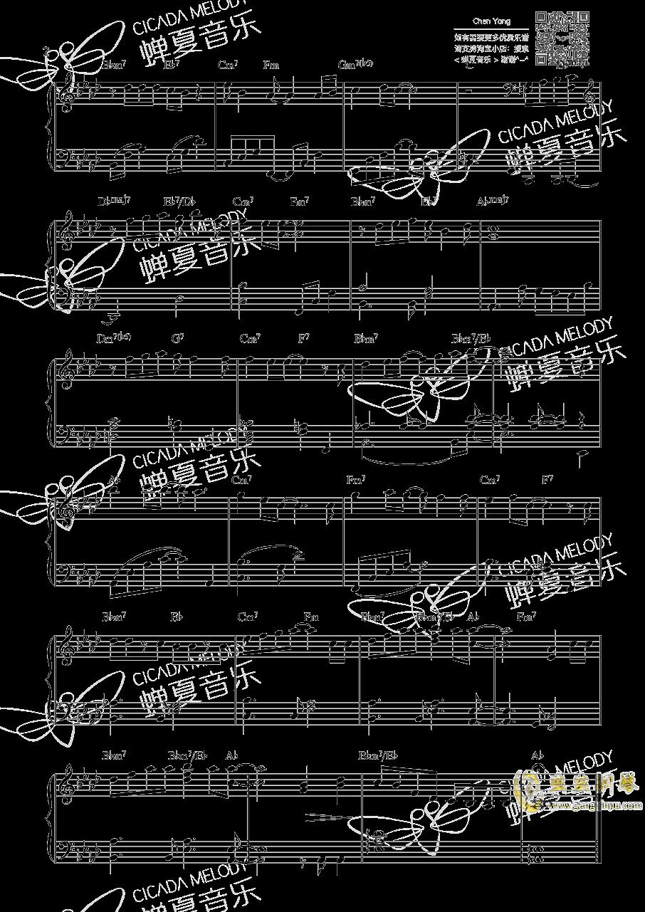 タキシ�`ド ミラ�`ジュ钢琴谱 第2页