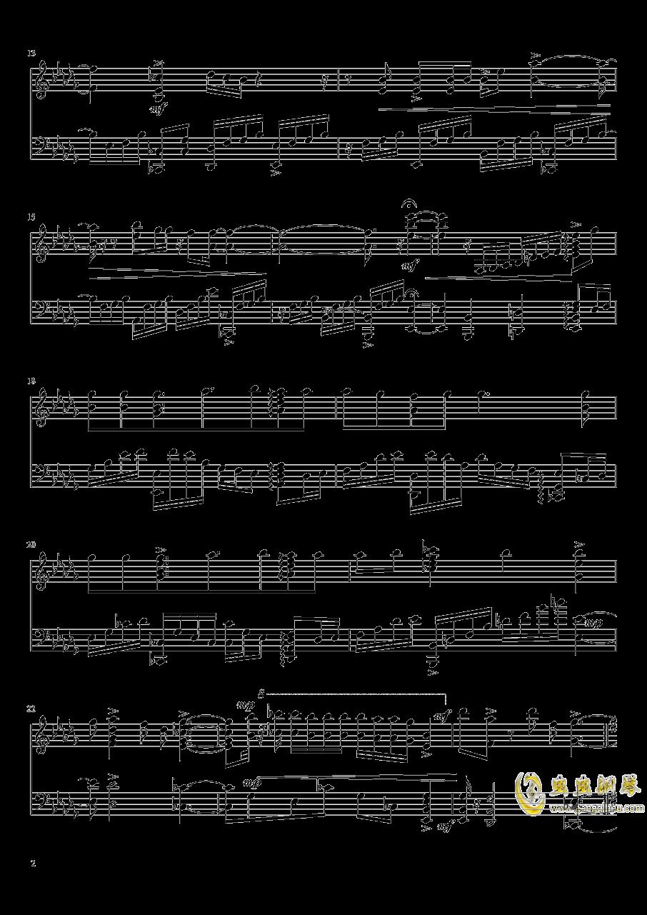 魔法使的新娘op钢琴谱 第2页