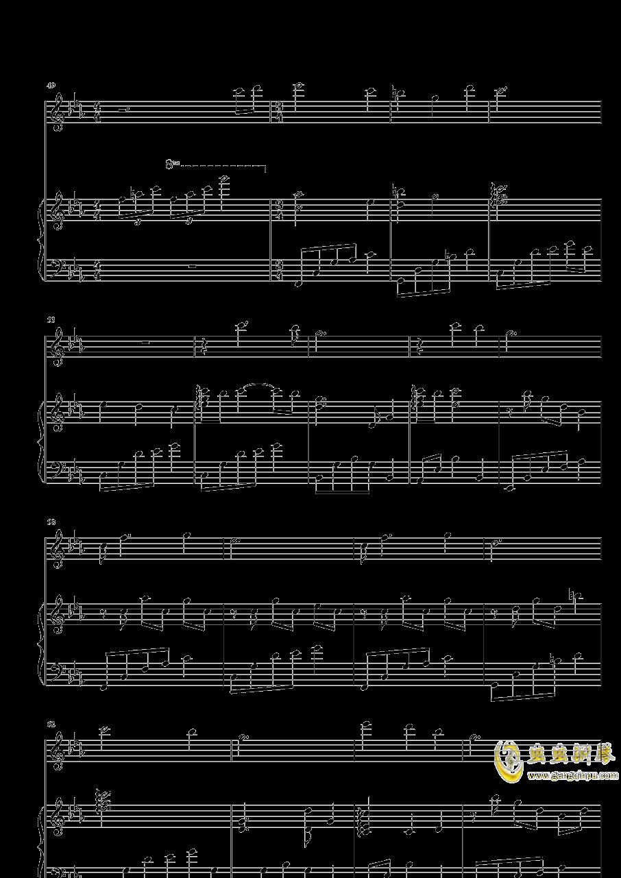 带我去你的城市钢琴谱 第4页