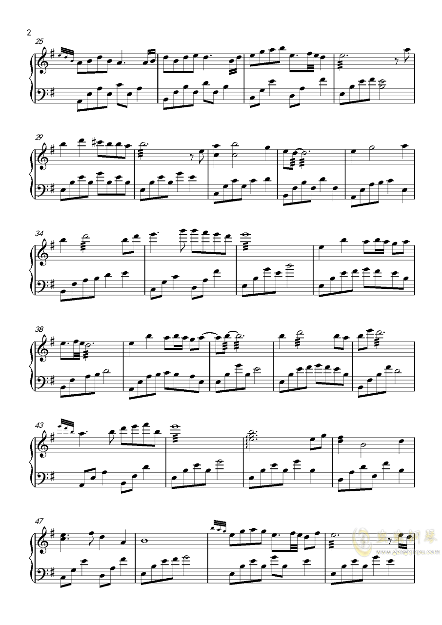 六月霜ag88环亚娱乐谱 第2页