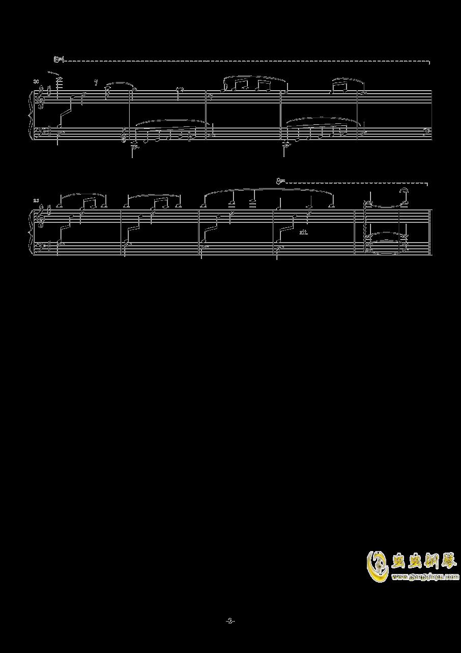 ミニイカ娘钢琴谱 第2页