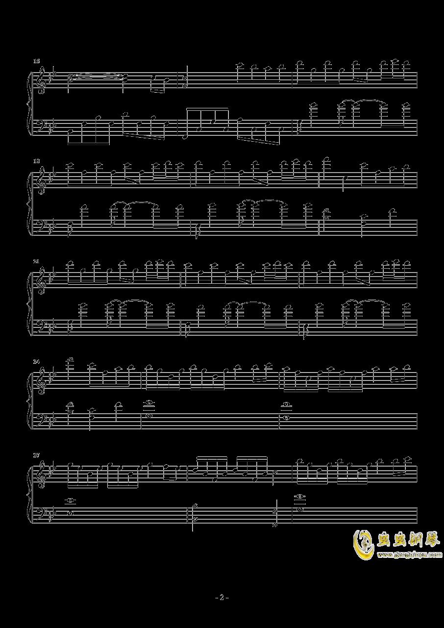 9420钢琴谱 第2页