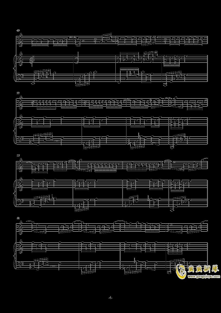 The Road钢琴谱 第4页