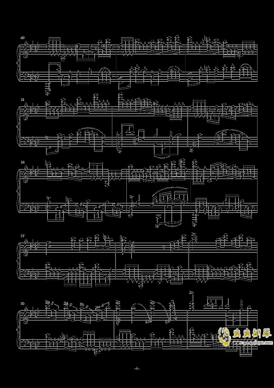 F大调叙事曲品月钢琴谱 第4页