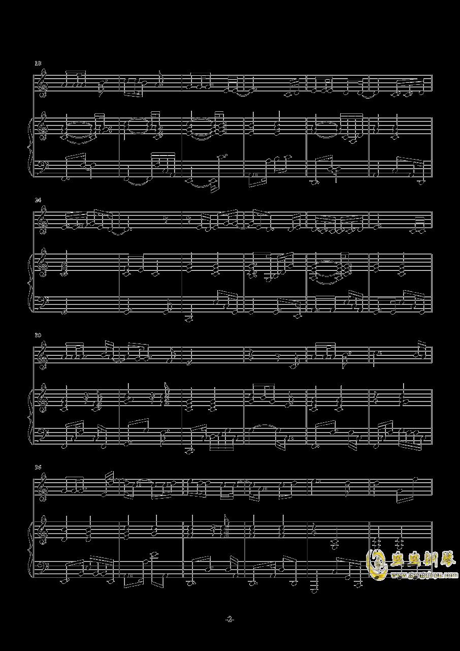 又小雪钢琴谱 第2页