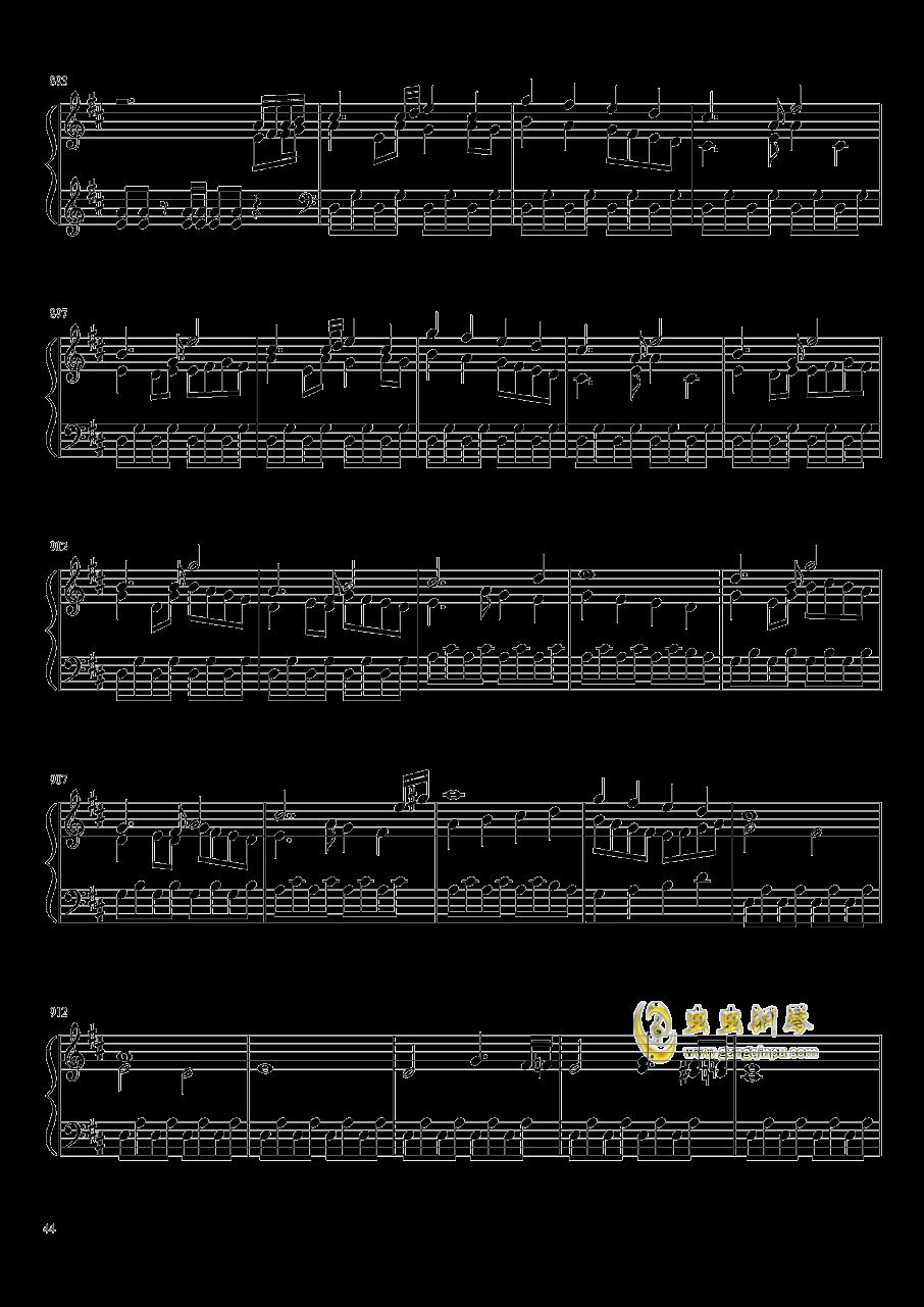 口袋妖怪初代全BGM串烧钢琴谱 第44页