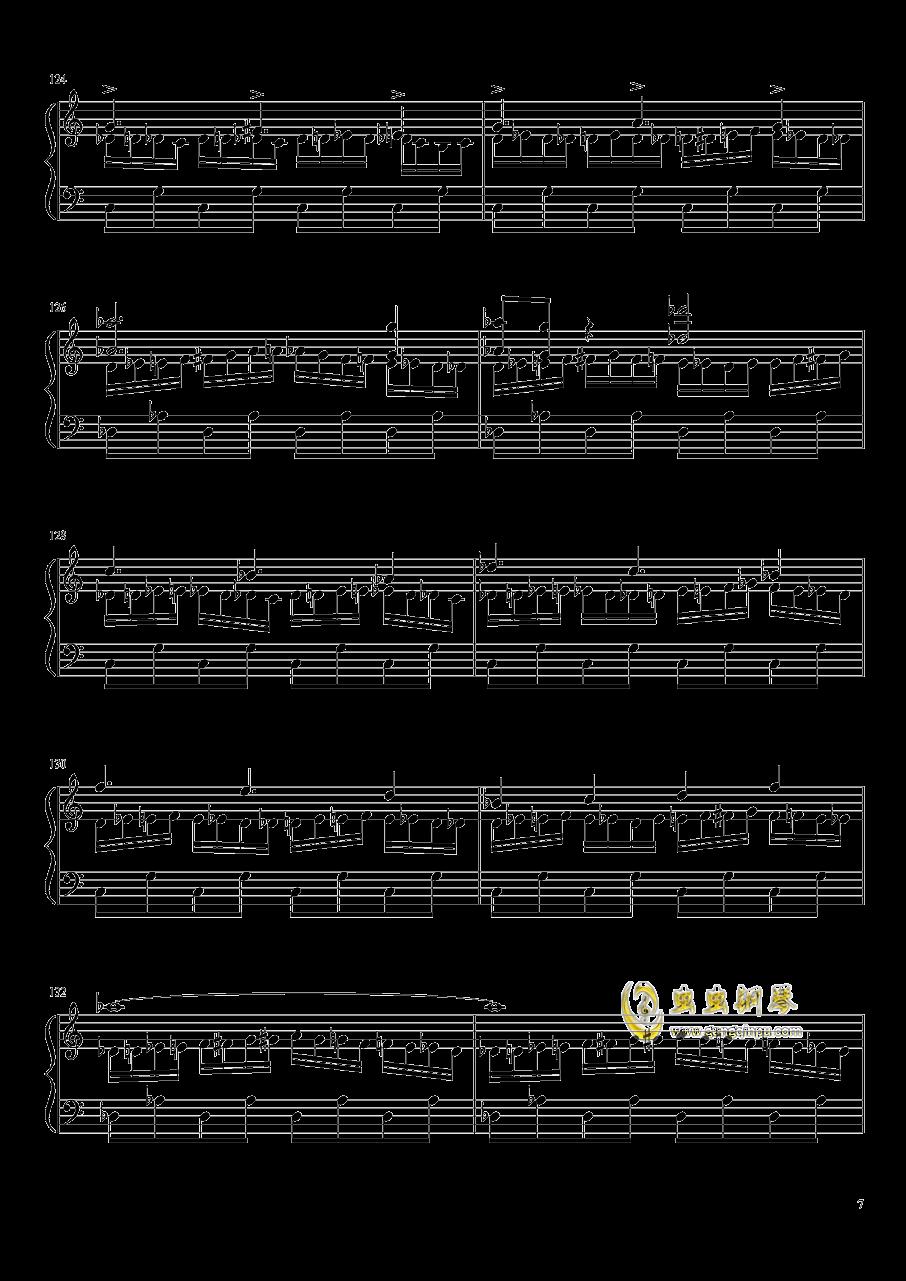 口袋妖怪初代全BGM串烧钢琴谱 第7页