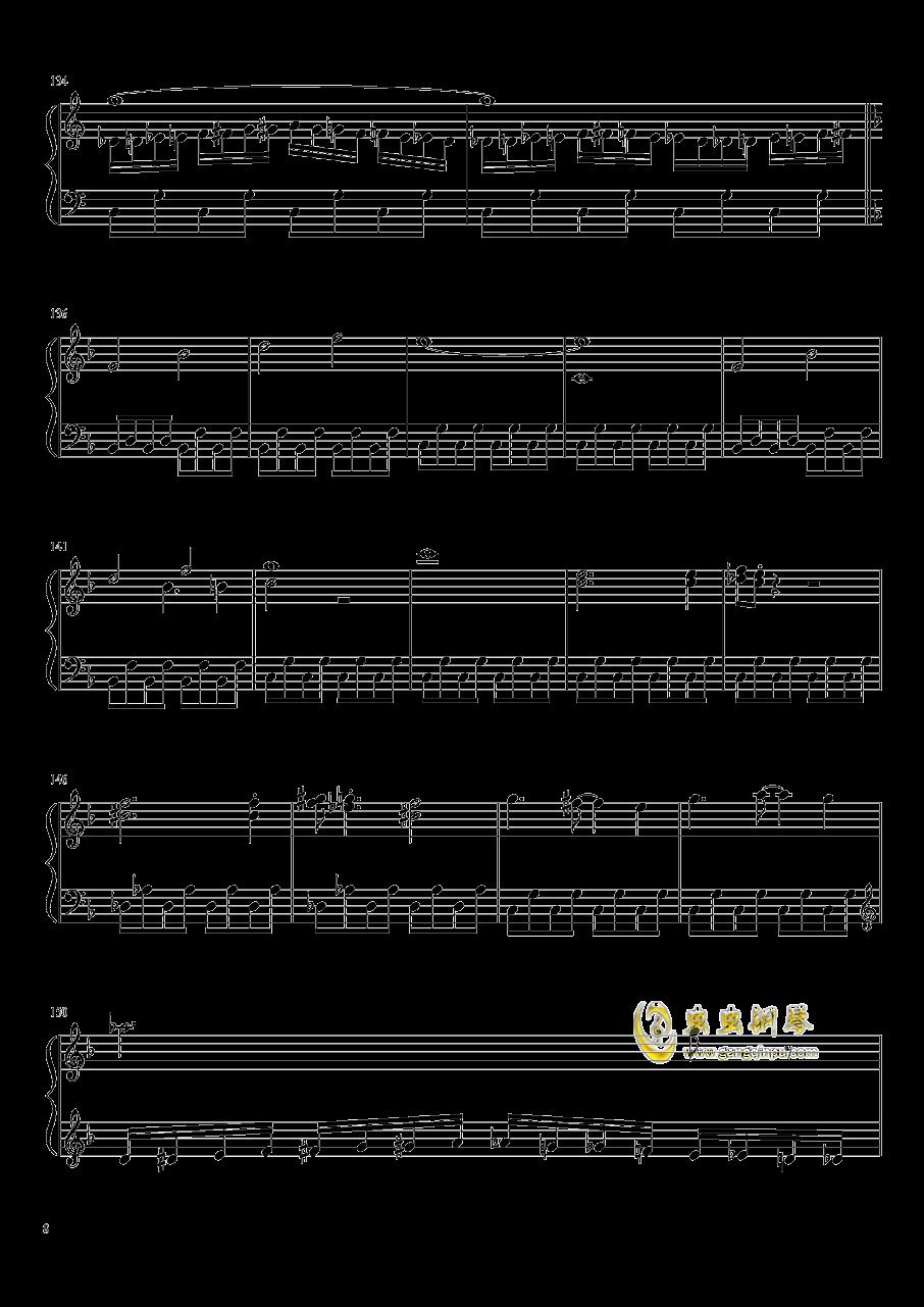 口袋妖怪初代全BGM串烧钢琴谱 第8页