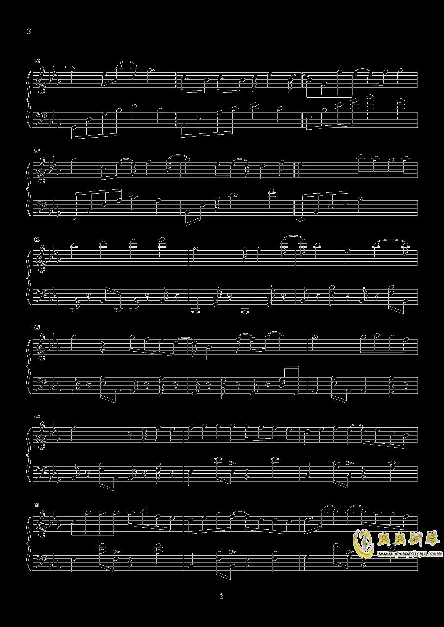 我多喜欢你,你会知道钢琴谱 第3页