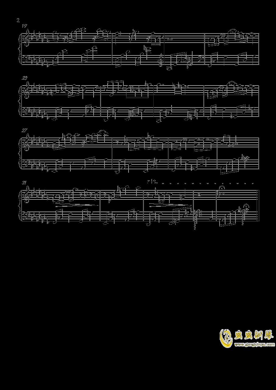 恋与制作人李泽言钢琴谱 第2页