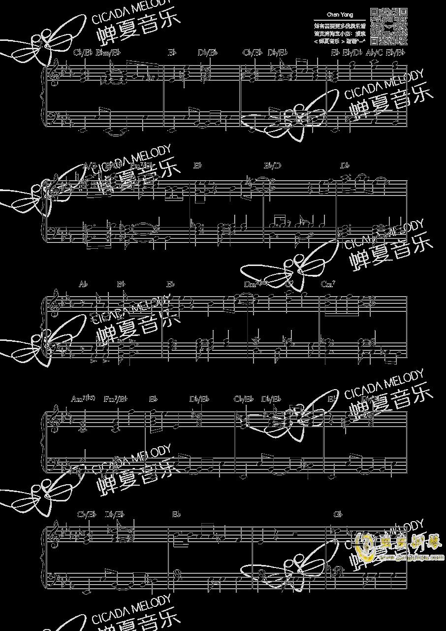 海贼王钢琴谱 第2页
