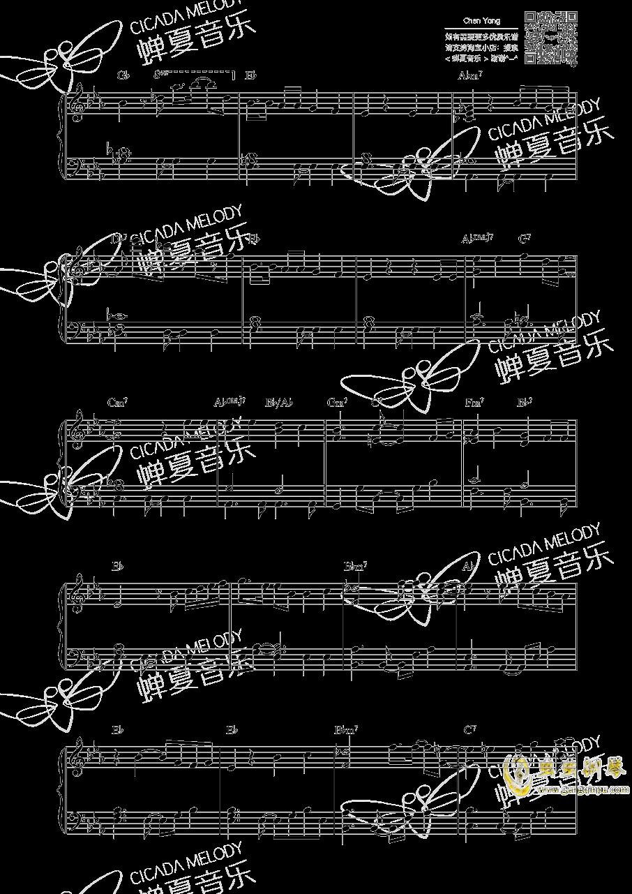 海贼王钢琴谱 第3页