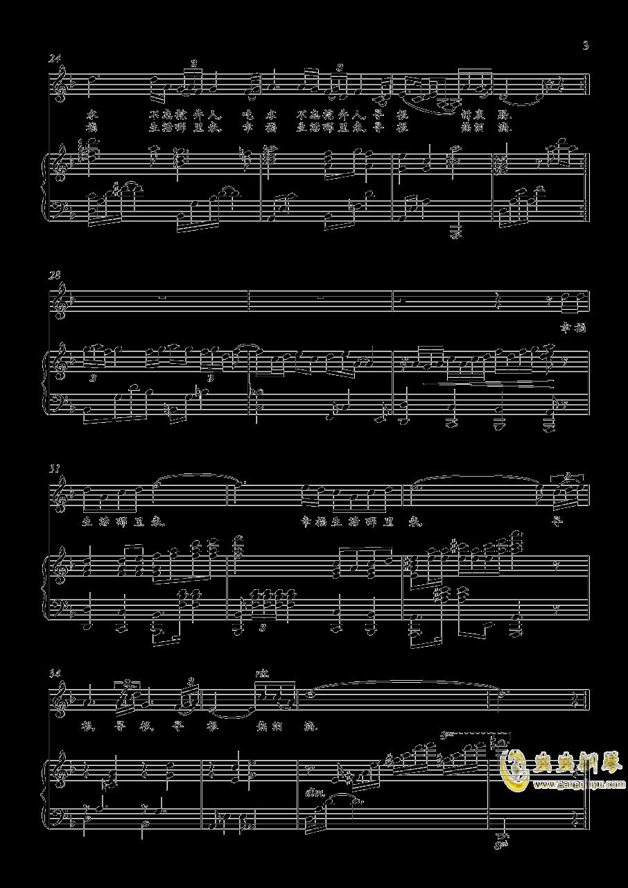 寻根钢琴谱 第3页
