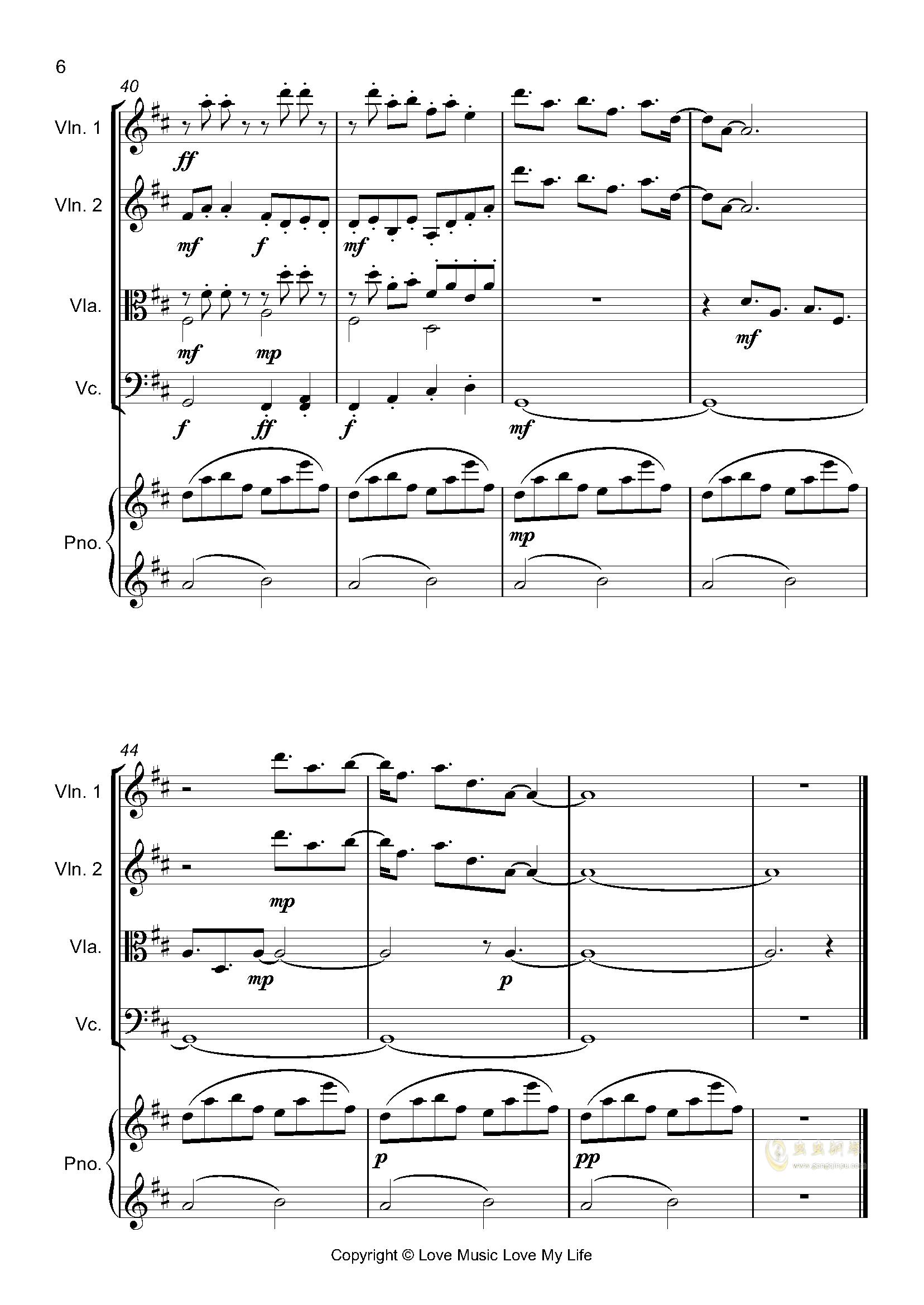 はじめての、�|京钢琴谱 第6页