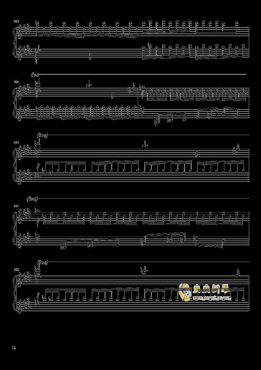 Tannh钢琴谱 第16页