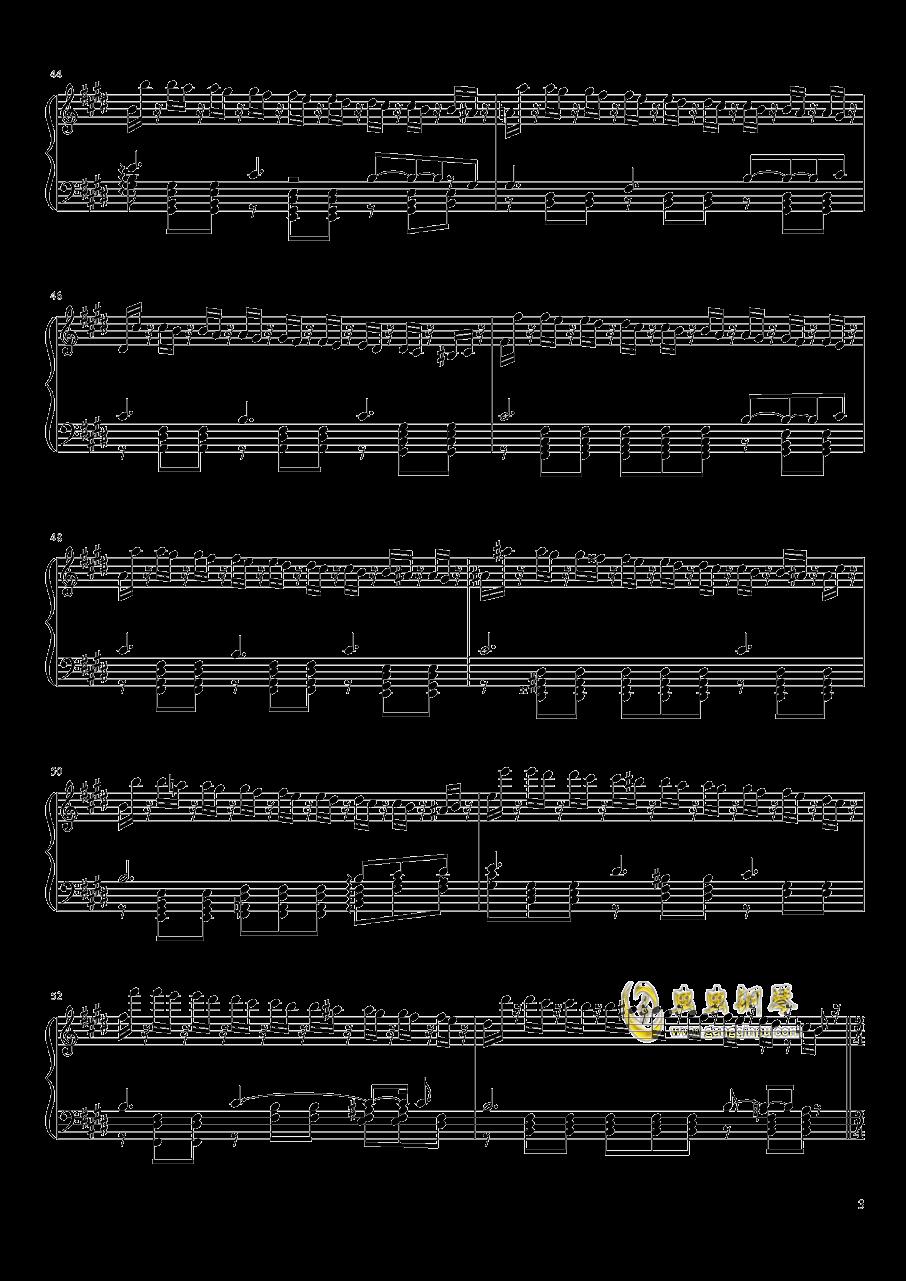 Tannh钢琴谱 第3页