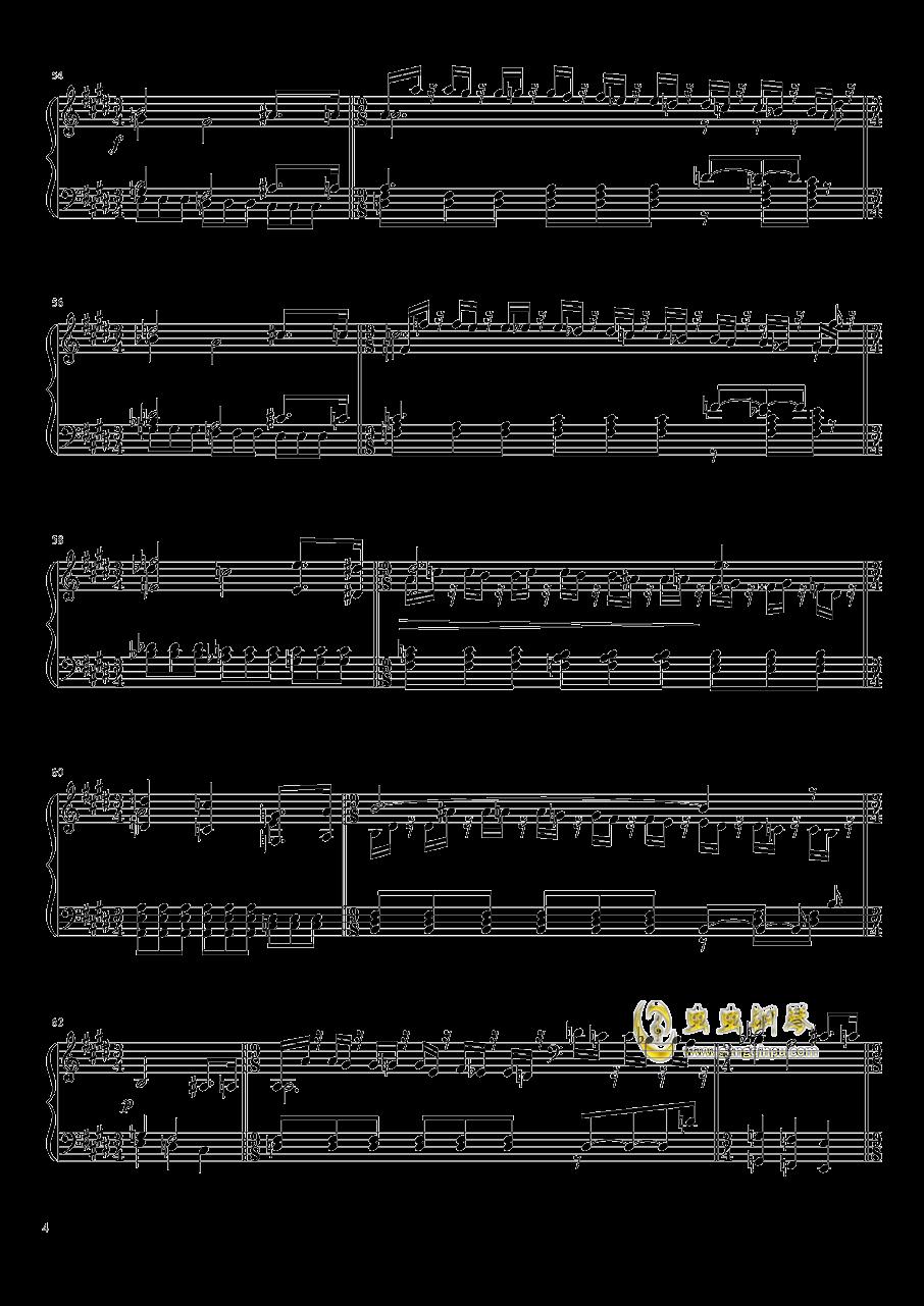 Tannh钢琴谱 第4页