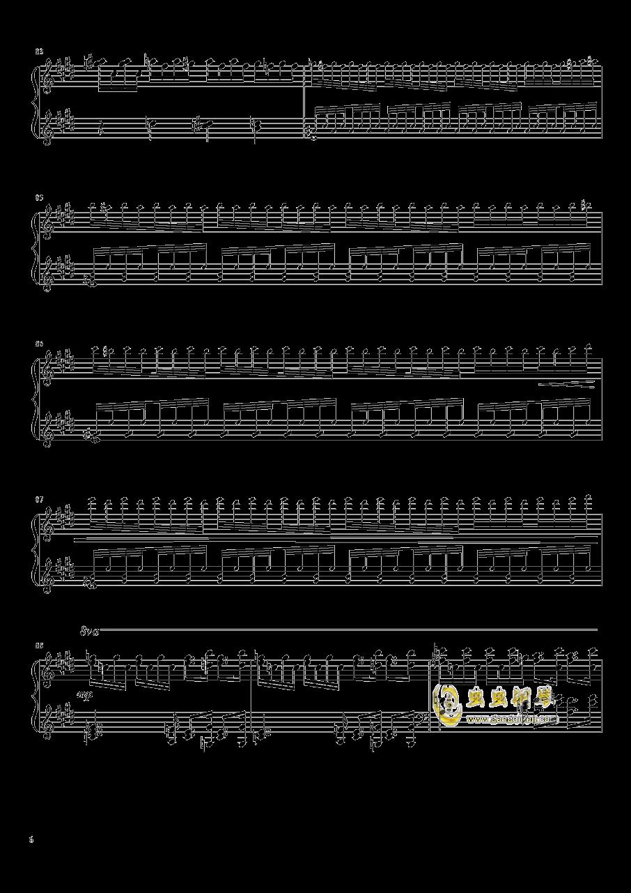 Tannh钢琴谱 第6页