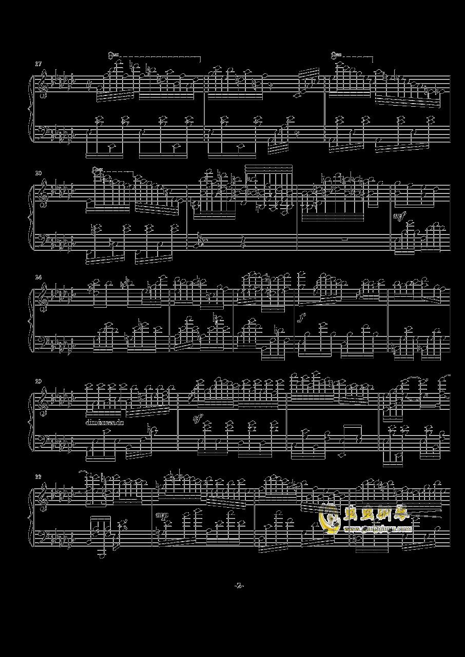 古树旋律(deemo)--Lune钢琴谱 第2页