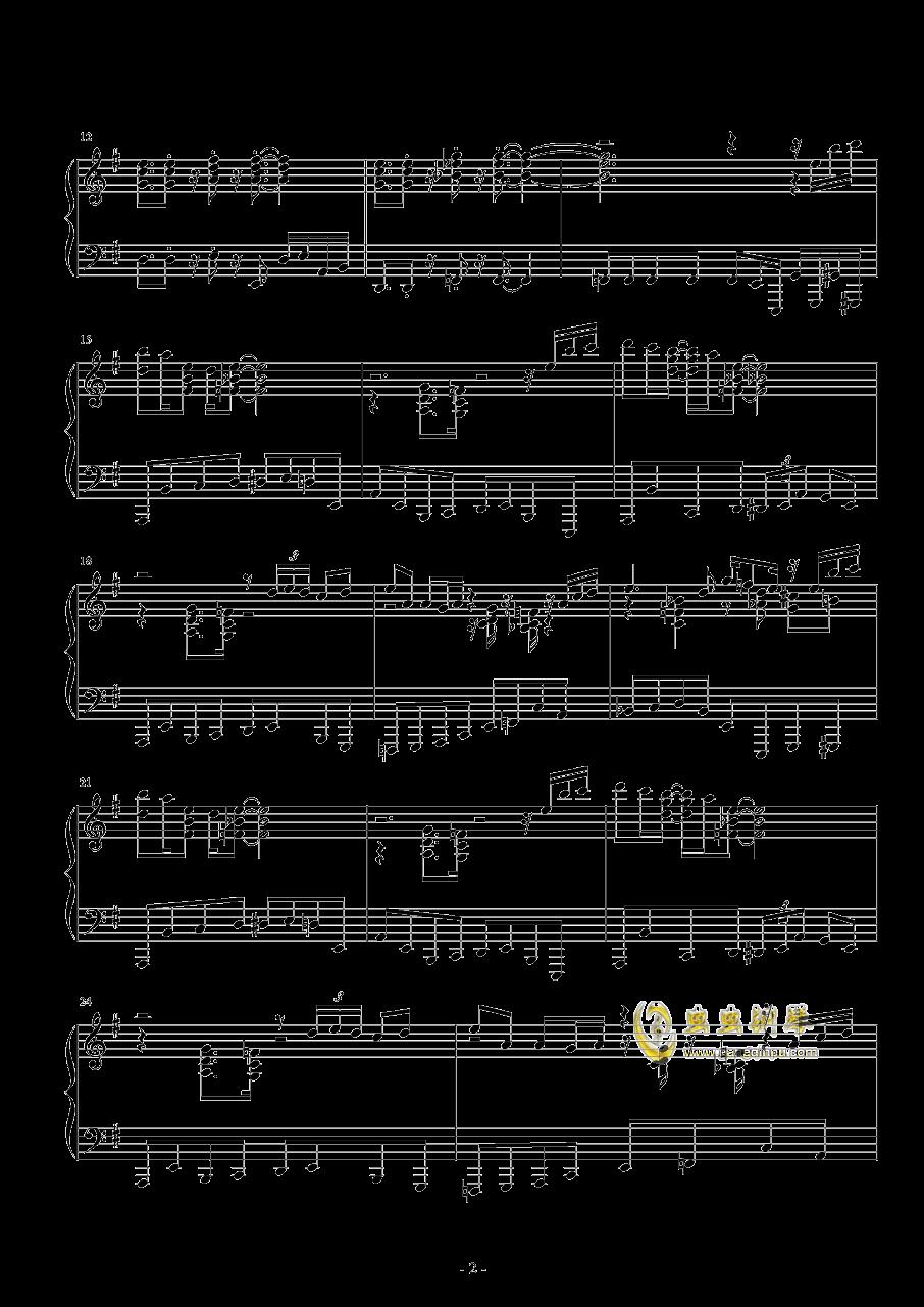 Round 2钢琴谱 第2页