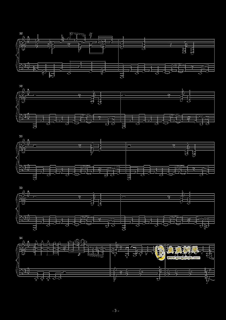 Round 2钢琴谱 第3页