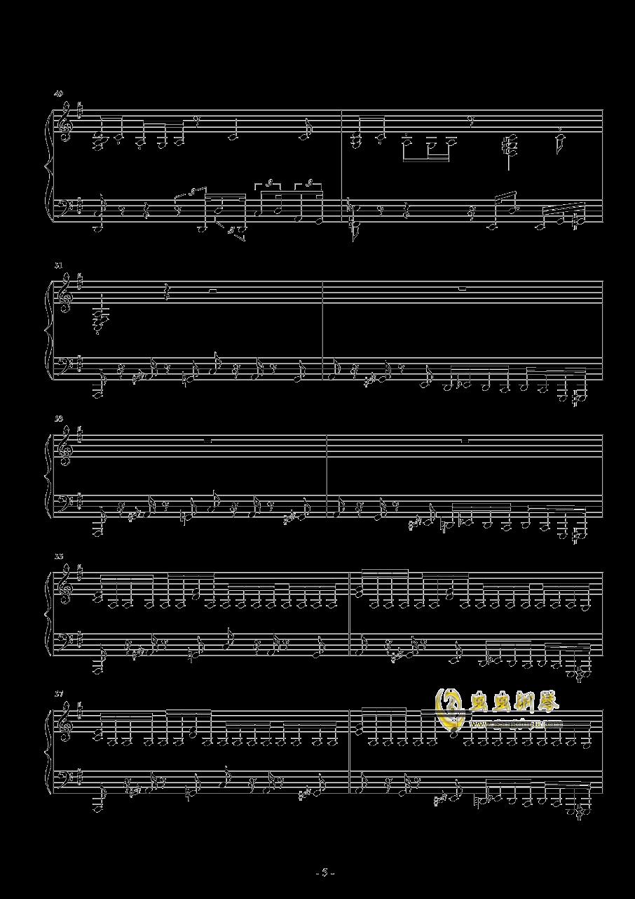 Round 2钢琴谱 第5页