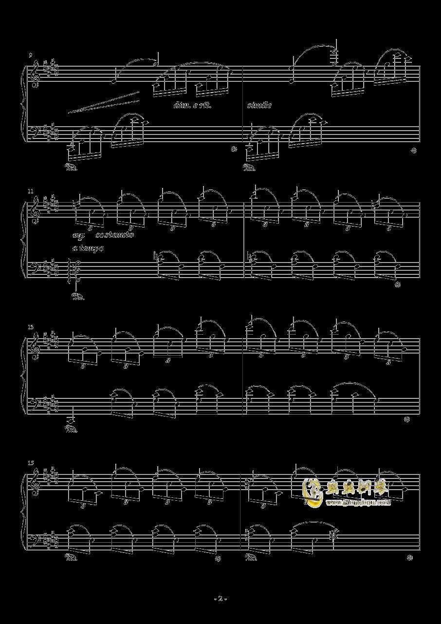 #c小调小(?)幻想曲钢琴谱 第2页