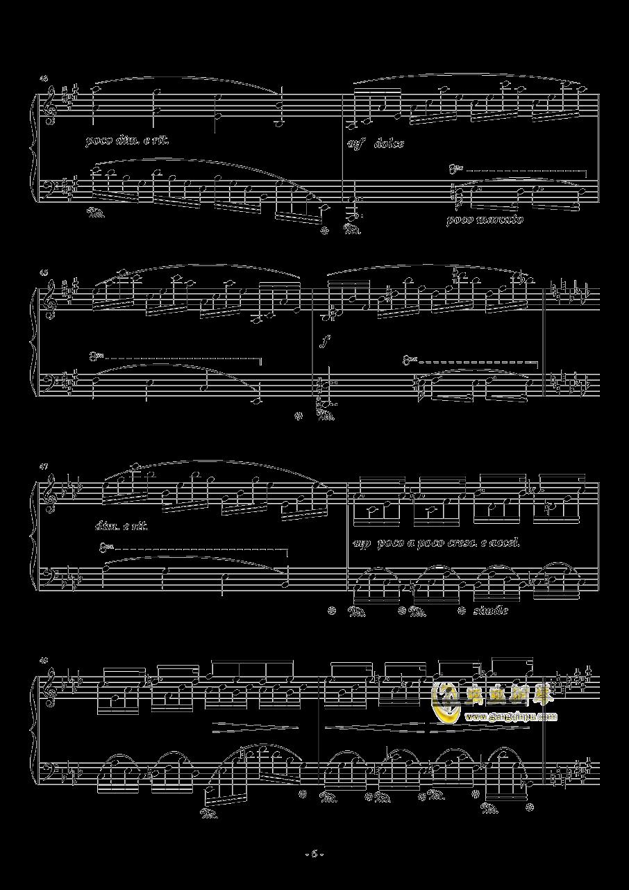 #c小调小(?)幻想曲钢琴谱 第6页