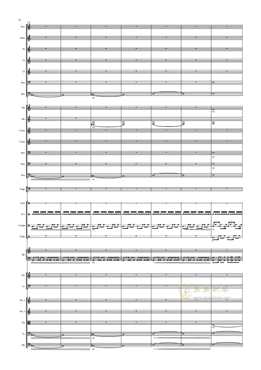 Deserto Capriccio钢琴谱 第20页