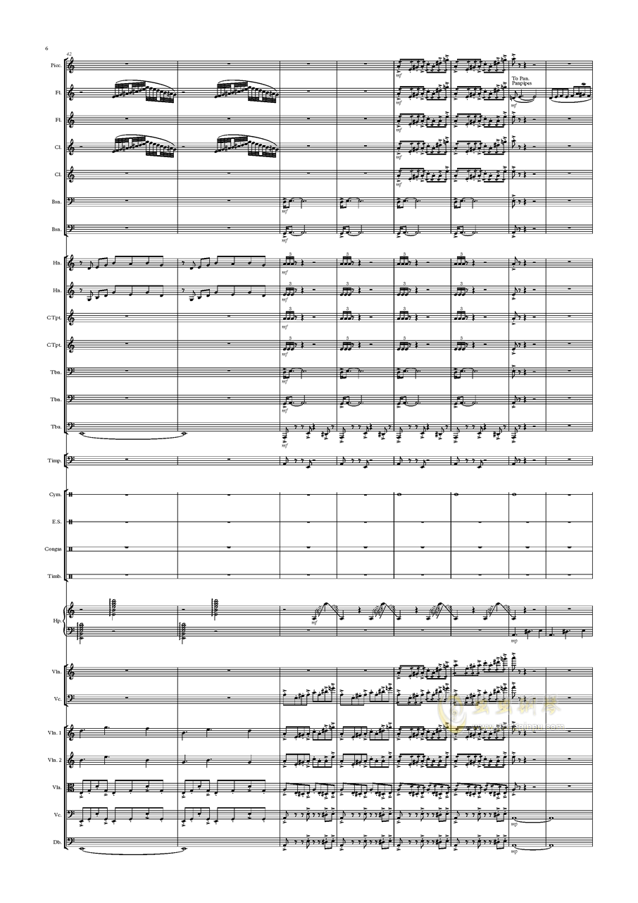 Deserto Capriccio钢琴谱 第6页