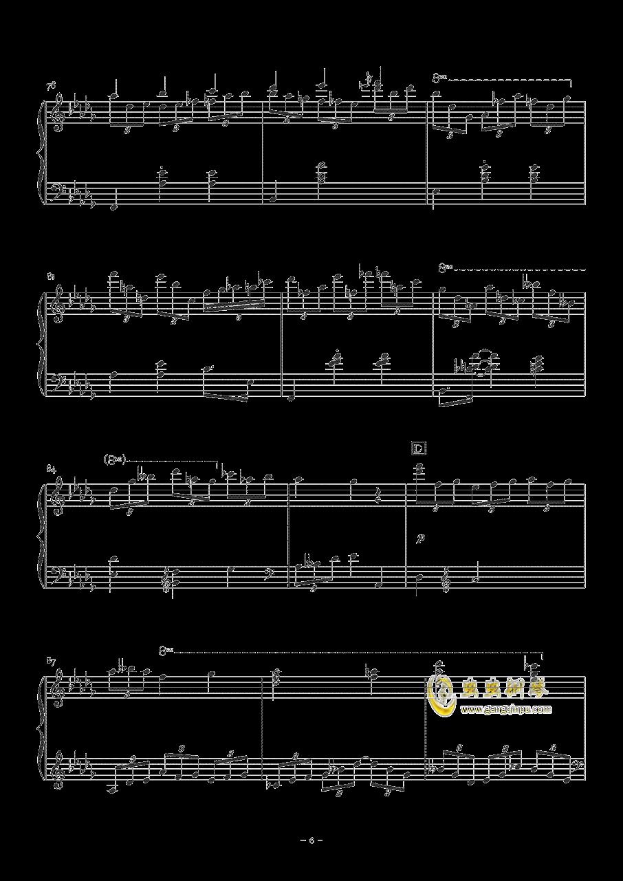 Sorosoro钢琴谱 第6页