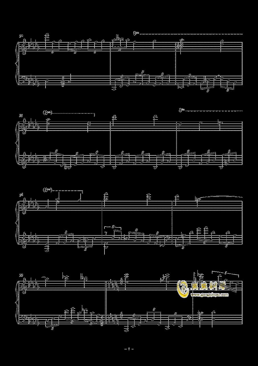 Sorosoro钢琴谱 第7页