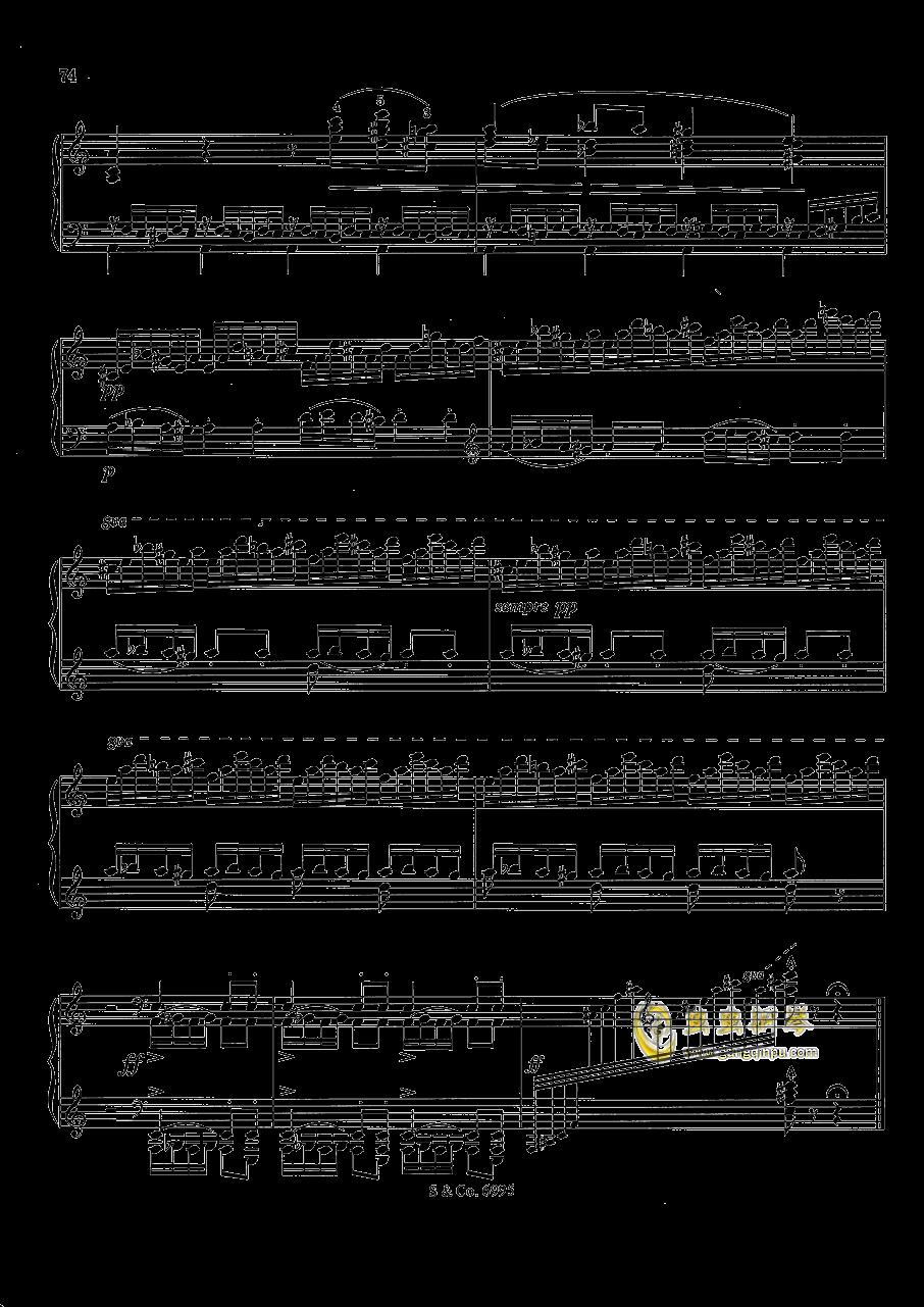 浪漫低诉钢琴谱 第10页