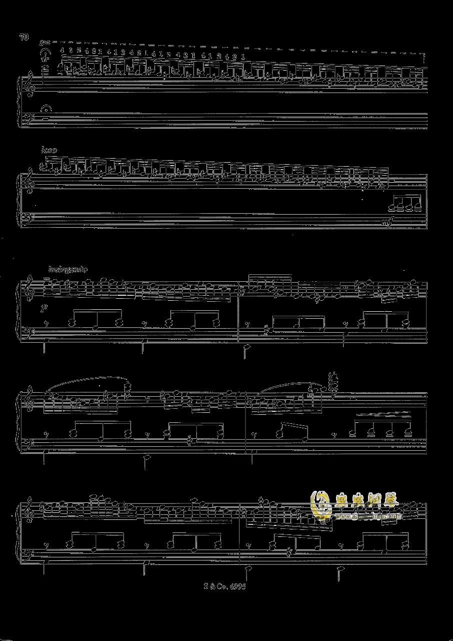 浪漫低诉钢琴谱 第6页