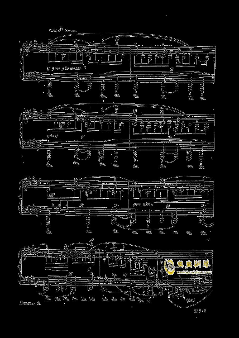 Op.28 No.2,舒曼 升F大调浪漫曲 Op.28 No.2钢琴谱,舒曼 升F大调