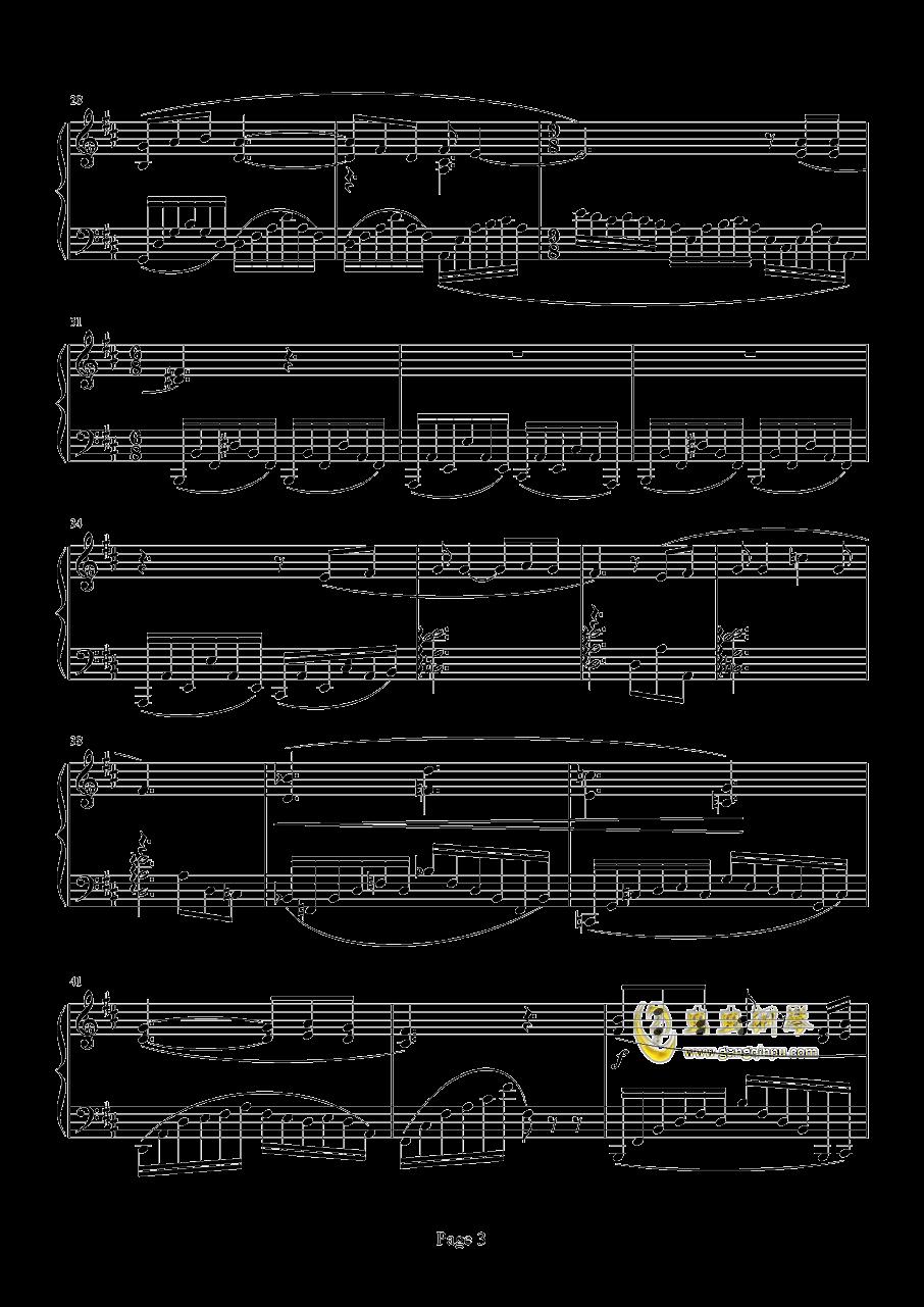 Chronosis Song钢琴谱 第3页