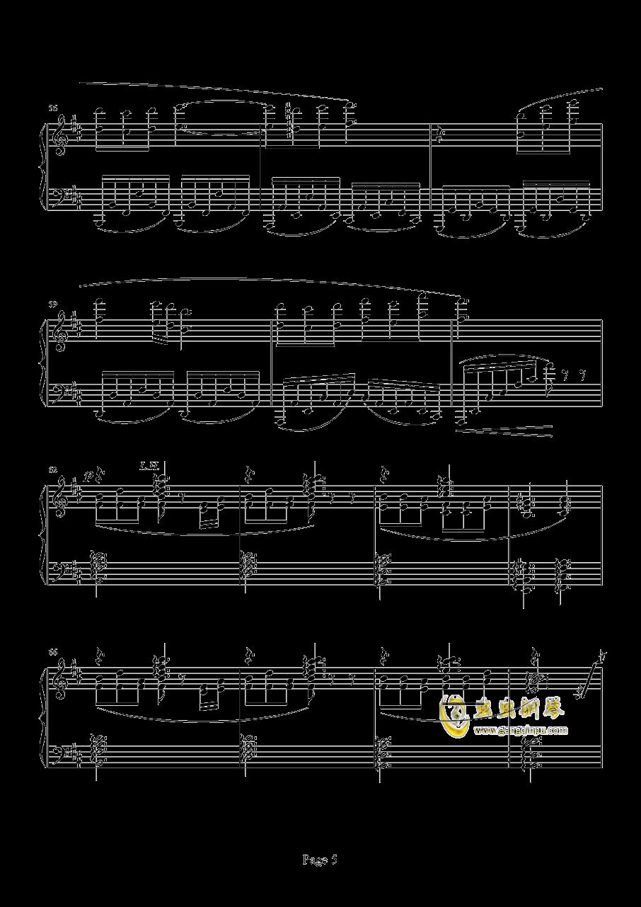 Chronosis Song钢琴谱 第5页