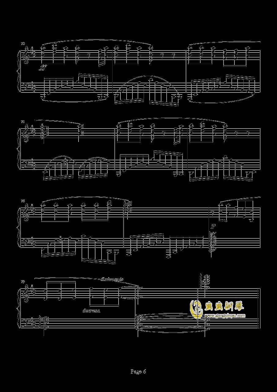 Chronosis Song钢琴谱 第6页